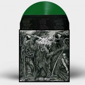"DARKTHRONE - Old Star , 12"" vinyl , Green Vinyl"