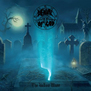 "DENIAL OF GOD  - The Hallow Mass, 2 x 12"" vinyls, Silver & Blue Swirl Vinyl"