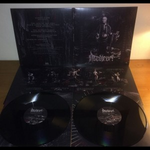 Necromantia Crossing the Fiery Path,  Blue Marble Vinyl + Booklet 8page